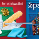 For windows that sparkle this holiday season