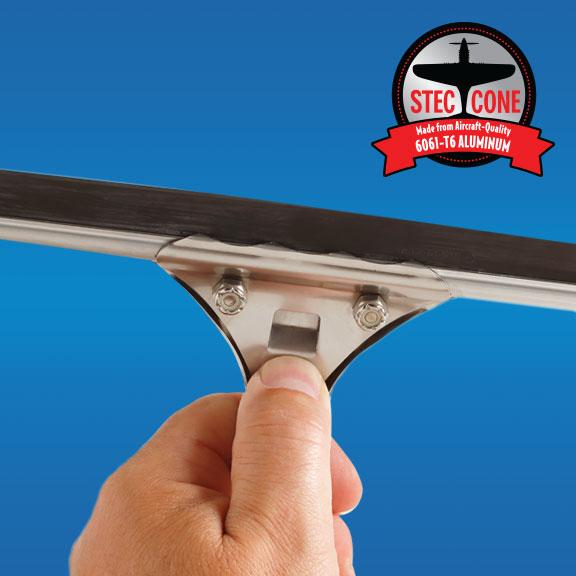 Steccone® Feather-weight aluminum Magi-Klip handle